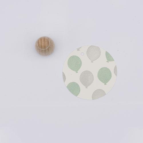 Perlenfischer stempel mini ballon   De Kroonluchter