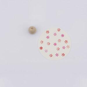 Perlenfischer stempel madeliefje klein | De Kroonluchter