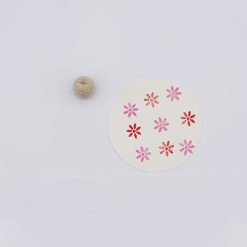 Perlenfischer stempel bloem margriet | De Kroonluchter