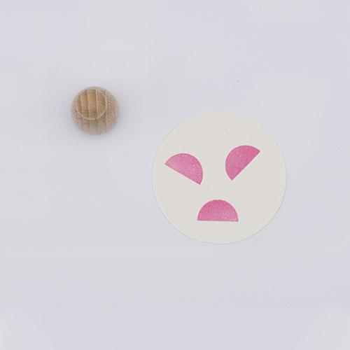 Perlenfischer stempel halve dots | De Kroonluchter