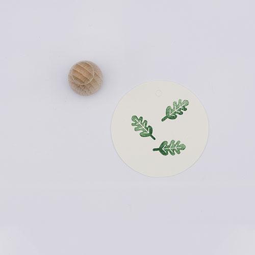 Perlenfischer stempel eikenblad mini | De Kroonluchter