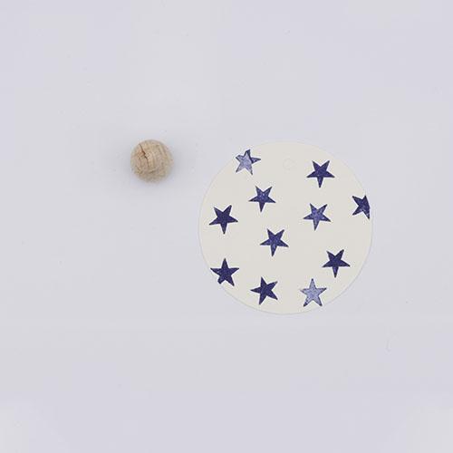 Perlenfischer stempel ster mini | De Kroonluchter