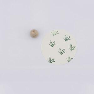 Perlenfischer stempel strikje mini | De Kroonluchter