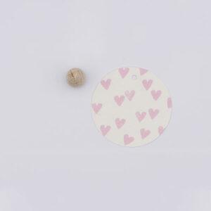Perlenfischer stempel hartjes mini | De Kroonluchter