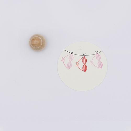 Perlenfischer stempel bikini top | De Kroonluchter