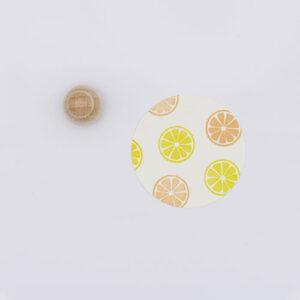 Perlenfischer stempel citroen schijf | De Kroonluchter