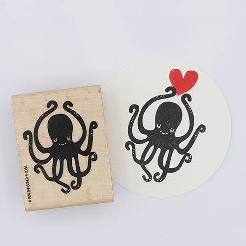 Perlenfischer stempel octopus | De Kroonluchter