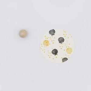Perlenfischer stempel schelp   De Kroonluchter