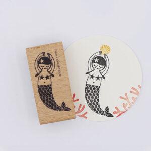 Stempel zeemeermin | De Kroonluchter