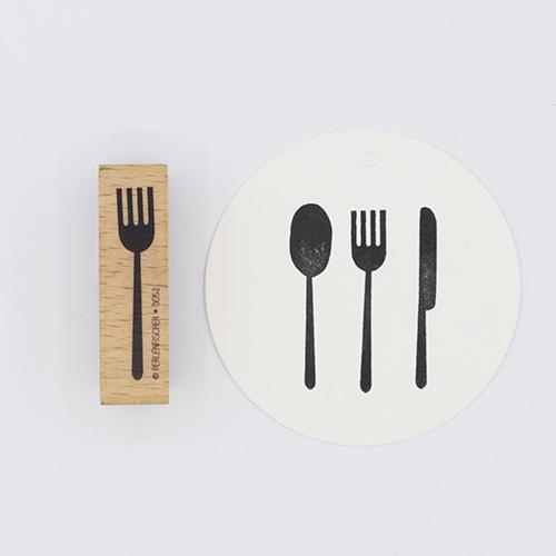 Stempel bestek vork | De Kroonluchter