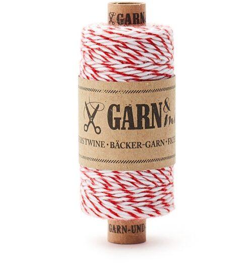 Garn & Mehr rood wit   De Kroonluchter